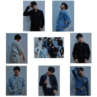 KPOP BTS LOVE YOURSELF 轉 Tear Wall Poster Bangtan Boys Coated Paper Wall Sticker