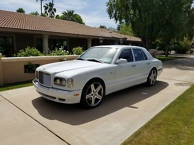 2001 Bentley Arnage Red Label 2001 Bently Arnage