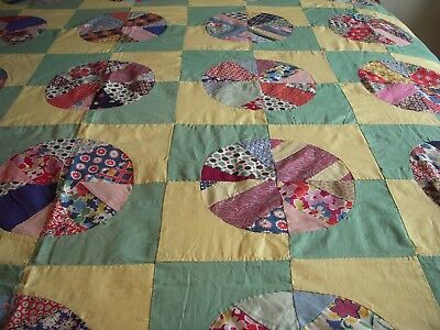 """Early """" Rob Peter To Pay Paul""""  Variation  Quilt Top~Stunning Design~"""