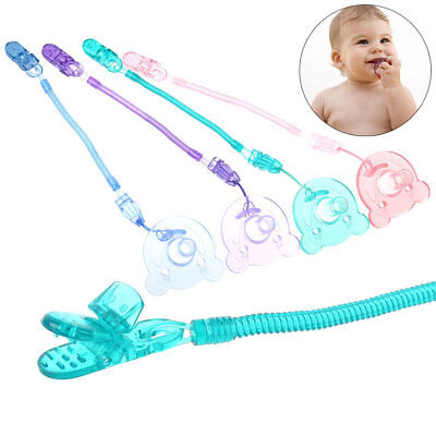 Silicone Food Grade Baby Pacifier Dummy Nipple Teethers With Pacifier Chain Gift