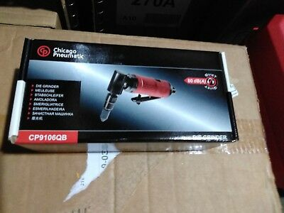 Chicago Pneumatic CP9106QB 1/4-Inch Collet 90-Degree Compact Angle Die Grinder