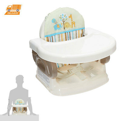 Baby Activity Booster Chair Eating Playing Table Kids Portable Secure High Seat
