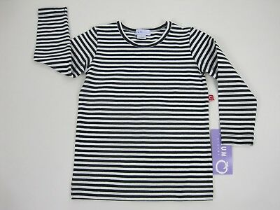 Plum Sister Baby Girls Long Sleeve Fitted Top sizes 1 3 4 Colour Black White