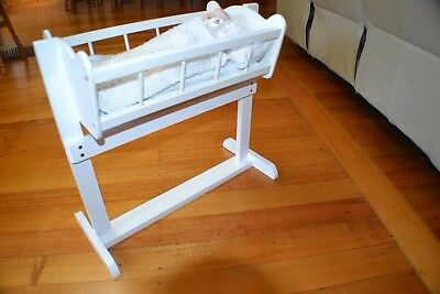 Dolls Rocking Cradle  (Cradle Only - Doll & Bedding Not Included)  Great Price!!