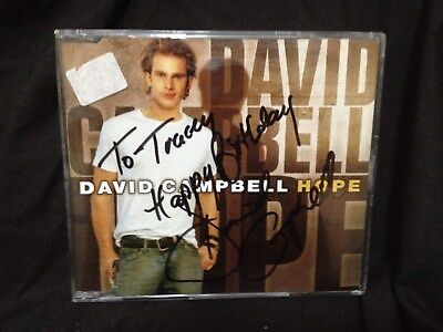 2 David Campbell Cds , Hope A 3 Song Signed Cd & Good Lovin 13 Songs Cd.