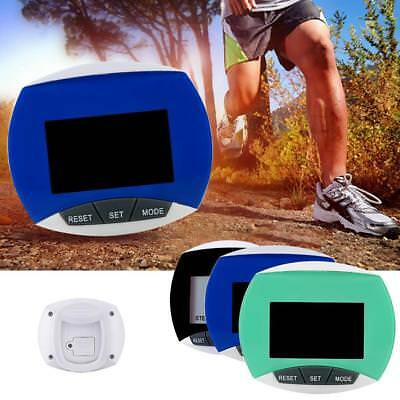 LCD Pedometer Step Walking Fitness Jogging Hiking Calorie Counter Distance Run.