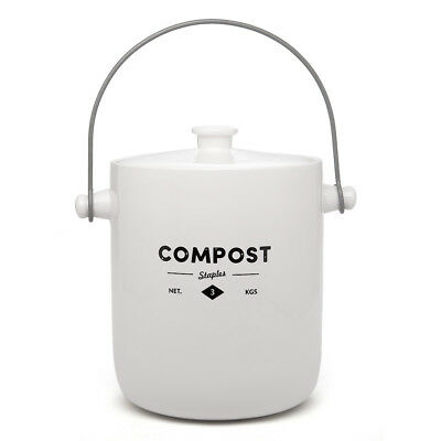 NEW Ecology Staples Foundry Compost Bin 3L