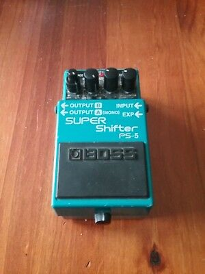 Boss Super Shifter Ps-5 Pitch Shifter Delay Distortion Fuzz Chorus Overdrive Tub