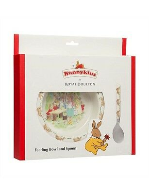 royal daulton bunnykins bowl and spoon