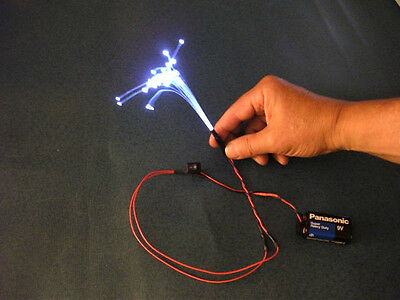 100feet .75mm FIBER OPTIC MODEL RR LIGHTING +FREE illuminator a $4.29 Value C1