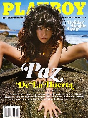 Playboy Magazine January 2013 Mens Adult Glamour Magazine