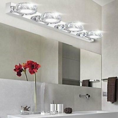 Modern Bathroom LED Crystal Mirror Front light Make-up Wall Lamp Vanity Light MX