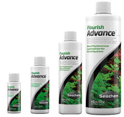 Seachem FLOURISH ADVANCE Aquarium Plant Fertiliser Growth Enhancer 50-500ml