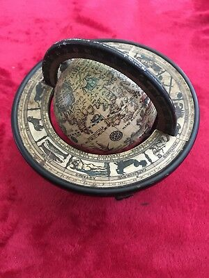 Desk Globe With Zodic Signs