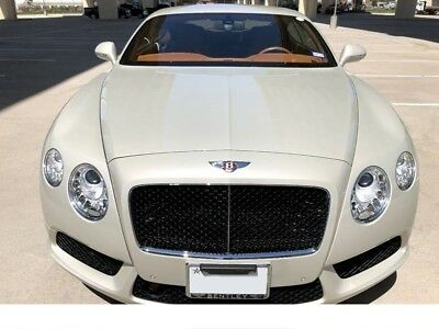 2013 Bentley Continental GT V8 AWD 2dr Coupe 2013 Bentley Continental