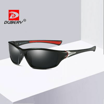DUBERY Men Polarized Sunglasses Outdoor Sport Driving Cycling Fishing Glasses