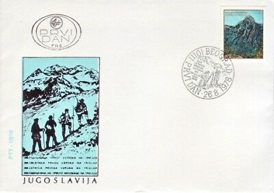 Yugoslavia - Special Events, People & Anniversaries (2no. PO/Other FDC's) 1978