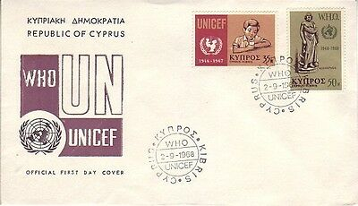 Cyprus - Special Events, Views, People, & Anniversaries (5no. FDC's) 1968-90