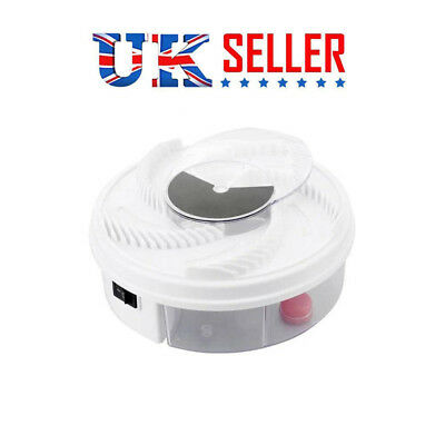 1PCS Special Offer Electric Fly Trap Device + Trapping Food + White USB Cable UK