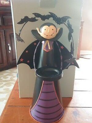 Partylite Count Batcula Tealight Holder Dracula 13 inches tall new