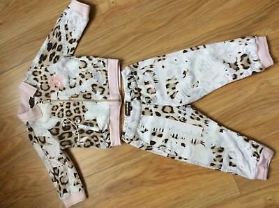 Roberto Cavalli baby girl tracksuit size 12 months