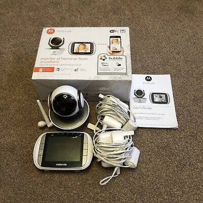 Motorola MBP853 Connect Wi-Fi Digital Video Baby Monitor with Remote Web Viewing