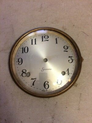 Sessions  Banjo Clock Dial&bezel,  With Glass