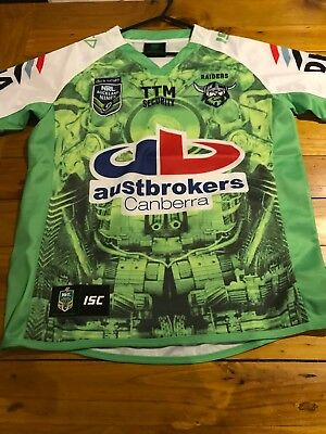 2015 Canberra Raiders Auckland 9s Jersey