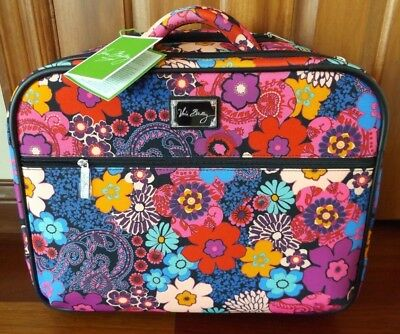 Vera Bradley 17 Rolling Work Bag Carry On Fl Fiesta New With