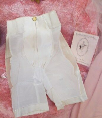 Vintage FIGURETTE 2117 Panty White Petite Women's White Girdle New In Package