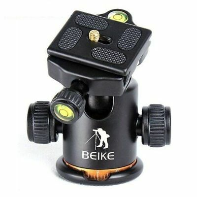"BK-03 Plate BEIKE 1/4"" Scre Camera Tripod Ball Head Ballhead with Quick Release"