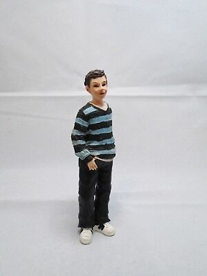1/12th SCALE DOLLS HOUSE RESIN YOUNG BOY DOLL