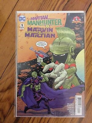 Martian Manhunter/ Marvin the Martian Special Mint Condition!