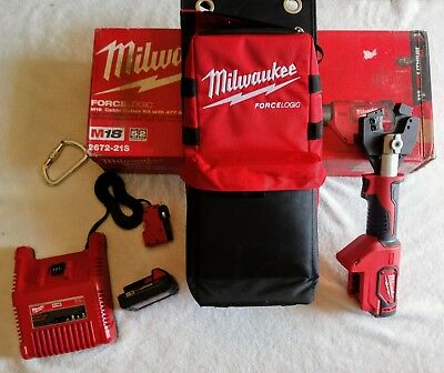 Milwaukee 2672-21S M18 FORCE LOGIC Cable Cutter Kit