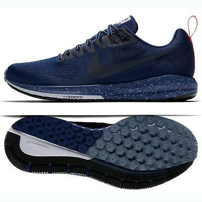 outlet store 4b0de 1e2f0 NIKE AIR ZOOM Structure 21 Shield 907324-400 Binary Blue/Grey Men Running  Shoes