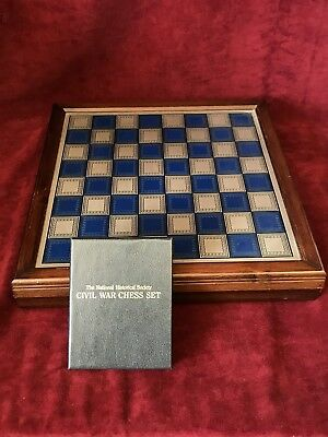 National Historical Society Civil War Chess Set
