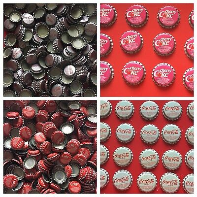 Lot of 764 Coca Cola Bottle Caps - Multiple Colors - Never Used