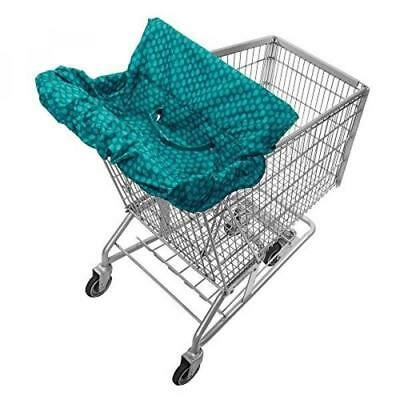 (Price Hidden)Infantino Fold Away Cart Cover, Teal