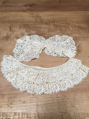 ANTIQUE (early 1900's)  Lace Collars