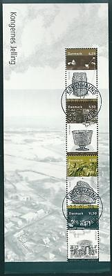 Denmark 2003 - 5 Very Fine Sheets From Prestige Booklet - Lux Cancelled