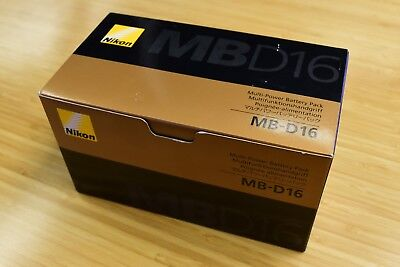 New Unopened Nikon MB-D16 Multi Battery Grip for D750