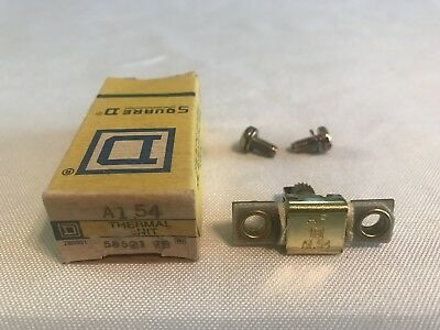 Square D A1.54 Overload Relay Thermal Unit A 1.54 New In Box!! Free Shipping!!