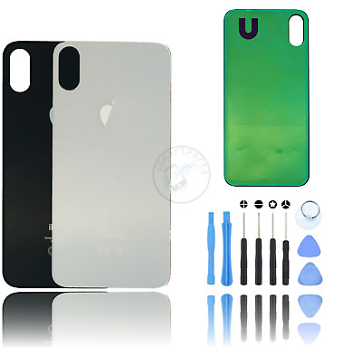 Back Rear Glass Housing Battery Cover Replacement For Apple iPhone X / UK Seller