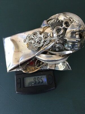 SCRAP STERLING SILVER LOT 99.5 Grams * 3 Day Auction *99 Cent Start