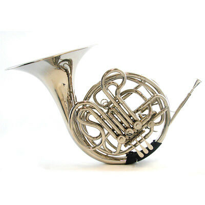 Schiller Elite IV Double French Horn Nickel Plated