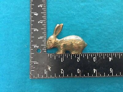 Vintage Brass Rabbit