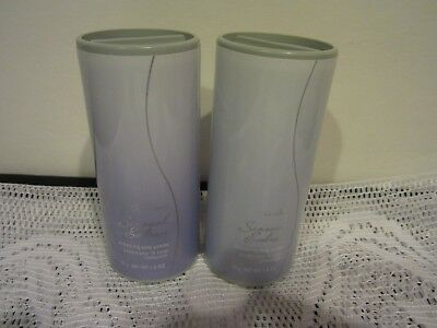 Avon  (2)  Far Away SENSUAL EMBRACE shimmering body powder  1.4 oz   each