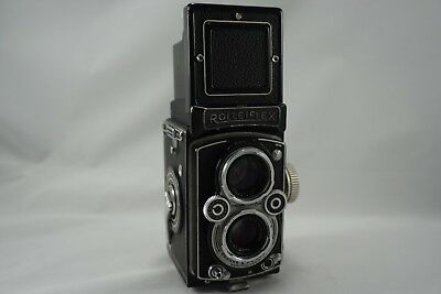 Rolleiflex Synchro-Compur DBP - Vintage Camera Decor or Parts