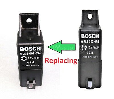 350-Jeep Dodge Diesel 9-Pin Glow Plugs Relay Bosch 0281003034 4-Zyl. 56044671AC