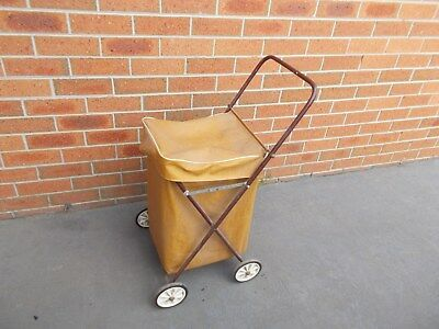 Vintage Retro Shopping Trolley Cart Jeep